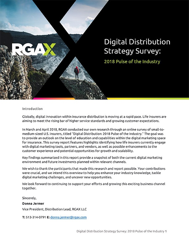 RGAX_Digital_Distribution_Survey Report